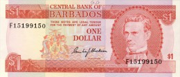 BILLET # BARBADE # 1 DOLLAR  # 1973  # PICK N° 29 - Barbades