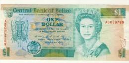 BILLET # BELIZE # 1 DOLLAR   # 1990  # PICK N° 51 - Belize