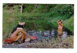 OCEANIE/TAHITI/spectacle Qu´on Découvre Souvent Au Bord Des Rivières Tahitiennes/réf:5166 - Tahiti