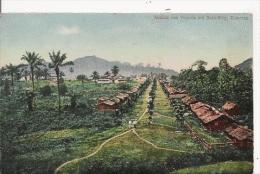 ANSICHT VON VICTORIA MIT BUEA-WEG, KAMERUN - Camerun