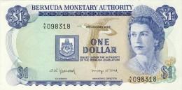 BILLET # BERMUDES # 1 DOLLAR   # 1982  # PICK N° 23 - Bermudas