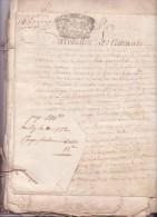 Archives Famille Le Cornu De Bimorel. XVII & XVIIIème Siècle. Environ 300 Actes Sur Parchemin Et Papier - Non Classés