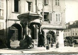 N°34195 -carte Photo  Obernai 1949 - Obernai