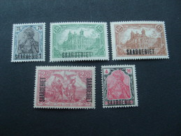 Sarre N° 32-49  Neufs ** (manque N° 42) - 1920-35 League Of Nations