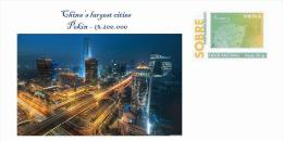 Spain 2013 - China´s Largest Cities - Pekin Special Cover - Geographie