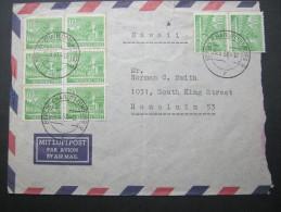 1951, Luftpostbrief Nach Honolulu - [5] Berlin