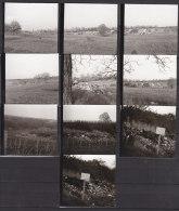 Landau In Der Pfalz, 10 Kleinfotos Von Wilden Müllplätzen, 1972 - Orte