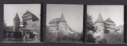 Balingen, Schloss, 3 Kleinbilder, 1963 - Orte