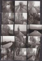 Landau In Der Pfalz, Entlang Der Queich, 18 Kleinfotos, 1972 - Orte