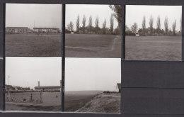 Landau In Der Pfalz, Bolzplätze, 5 Kleinfotos, 1972 - Orte