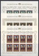 Liechtenstein 1985 Minifoglio Unif. 822/24 **/MNH VF - Liechtenstein