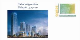 Spain 2013 - China´s Largest Cities - Chengdu Special Cover - Geographie
