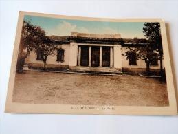 Carte Postale Ancienne : CHERCHELL : La Poste - Algérie