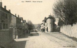 CPA - FRANGY (74) - Entrée à Frangy Par La Route De Seyssel - Frangy