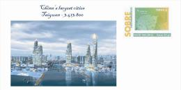 Spain 2013 - China´s Largest Cities - Taiyuan Special Cover - Geographie