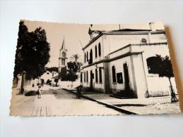 Carte Postale Ancienne : MARENGO : Mairie , Animé - Algérie