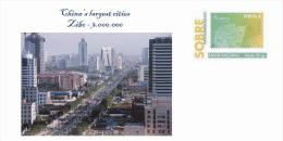 Spain 2013 - China´s Largest Cities - Zibo Special Cover - Geographie