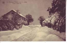 D10 - BELGIQUE - LA BARAQUE MICHEL Sous La Neige - Hiver 1925-26 - Nels Delincé - Jalhay