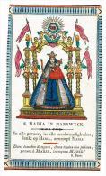 """IMAGE RELIGIEUSE Colorisée, 14,9 X 8,7 Cm, """"S. Petronella"""" - Images Religieuses"""