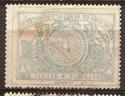 FEC-523     DRUK OP DE RUGZIJDE  Licht Papier         Ocb TR 38 - 1895-1913