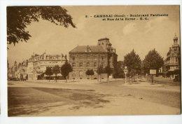 K25 - CAMBRAI - Boulevard Faidherbe Et Rue De La Herse - Cambrai
