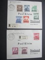 LUXEMBURG, 2 Einschreiben Von 1941 - Occupation 1938-45