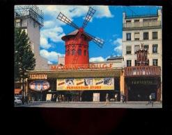 PARIS 75018 : MOULIN ROUGE ( Cinéma Film Paramount Montmartre Perversion Story Film Affiche Fulci Sorel 1969) Solex - Arrondissement: 18