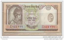 Nepal - Banconota Non Circolata Da 10 Rupie In Polimero - 2005 - Nepal