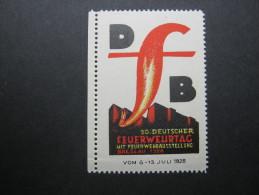 PROPAGANDAVIGNETTE, Breslau Feuerwehrtag - Germany