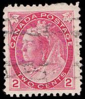 Canada Scott #  77, 2¢ Carmine (1899) Queen Victoria, Used - 1851-1902 Règne De Victoria