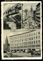 Cpa  Allemagne Wuppertal  Elberfeld -- Schwebebahn , Wall Rathaus , Post Rathaus   MABT35 - Wuppertal