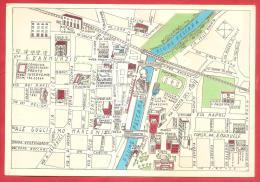 CARTOLINA NV ITALIA - PESCARA - Veduta Toponomastica Di Un Settore Della Città - 10 X 15 - PERFETTA - Carte Geografiche