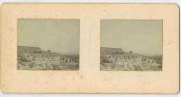 PHOTO STÉRÉOSCOPIQUE - ASIE MINEURE - TURQUIE - RUINES D'ÉPHÈSE (DÉTAIL EN GROS PLAN) - Stereoscopic