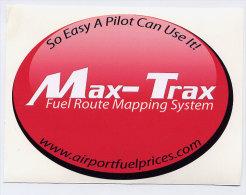 Autocollant Max-Trax - Aufkleber