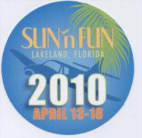 Autocollant Sun N Fun, Lakeland Florida - Aufkleber