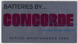 Autocollant Batteries Concorde - Aufkleber