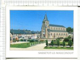 SASSETOT Le MAUCONDUIT  -  Le Quartier De L Eglise - Other Municipalities