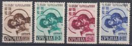 Germany Occupation Of Serbia Serbien 1942 Mi#62-65 Used - Occupation 1938-45