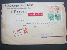 SCHLESWIG, Einschreiben Aus Flensburg - Germany