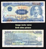 VIETNAM Billet De Banque Banknote Bill 5000 NM NGHIN DONG 1991 - Vietnam