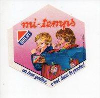REF 5  : Autocollant Sticker 1970/1980 Belin Mi Temps - Autocollants