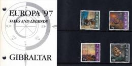 GIBRALTAR 1997 - 4 Sondermarken ** - Gibraltar