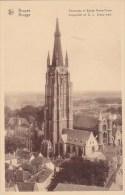 Belgium Brussells Bruxelles Panoramaic Et Eglise Notre Dame