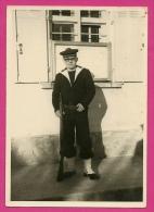 PHOTO Photographie Amateur 83 LA CRAU Var - Marin De L' Ecole Des Transfilistes En Tenue De Garde * MILITARIA - Lugares