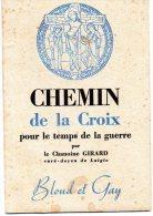 - Petit Livret De 16 Pages, 1939, Chemin De Croix Pour Le Temps  De LA GUERRE - 575 - Documents