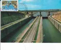 The Danube - Black Sea  Channel  2 - Maximum Cards & Covers