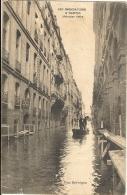 LES INONDATIONS A NANTES (Fevrier 1904). Rue Kervégan   86 - Nantes