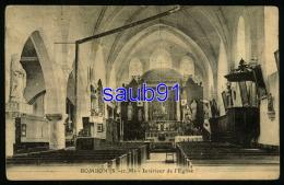 Bombon -  Intérieur De L'Eglise -    Réf : 29361 - Autres Communes