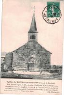 Carte Postale Ancienne De VAUX LES MOURON - Other Municipalities
