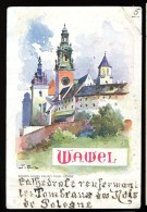 cpa de Pologne Wawel Wydawn , Salonu Malarzy Polsk. Krakow.   MABT36